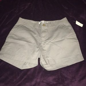 Grey Old Navy  Khaki Shorts